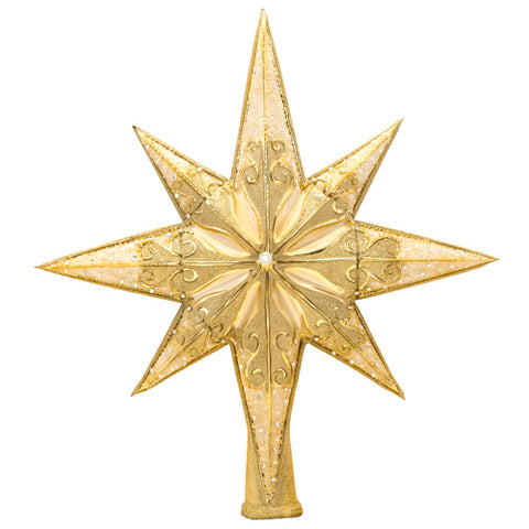 Christopher Radko Golden Radiance Star Finial  Tree Topper