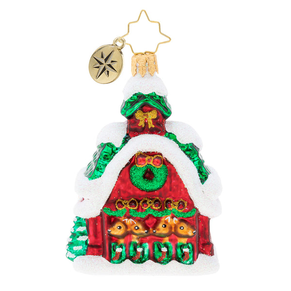 Christopher Radko Goodnight Donner Blitzen Gem Ornament