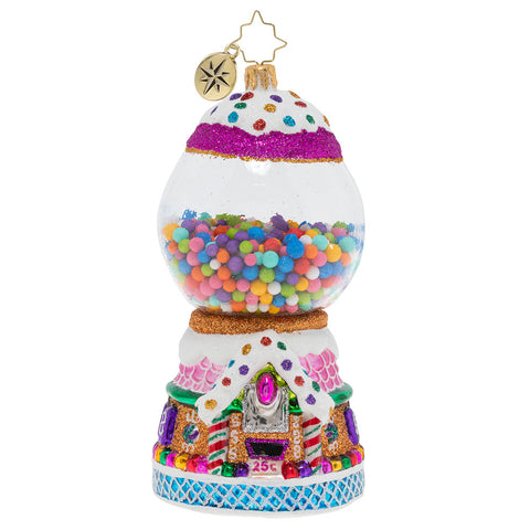 Christopher Radko Gumball Goodies Bubble Gum Ornament