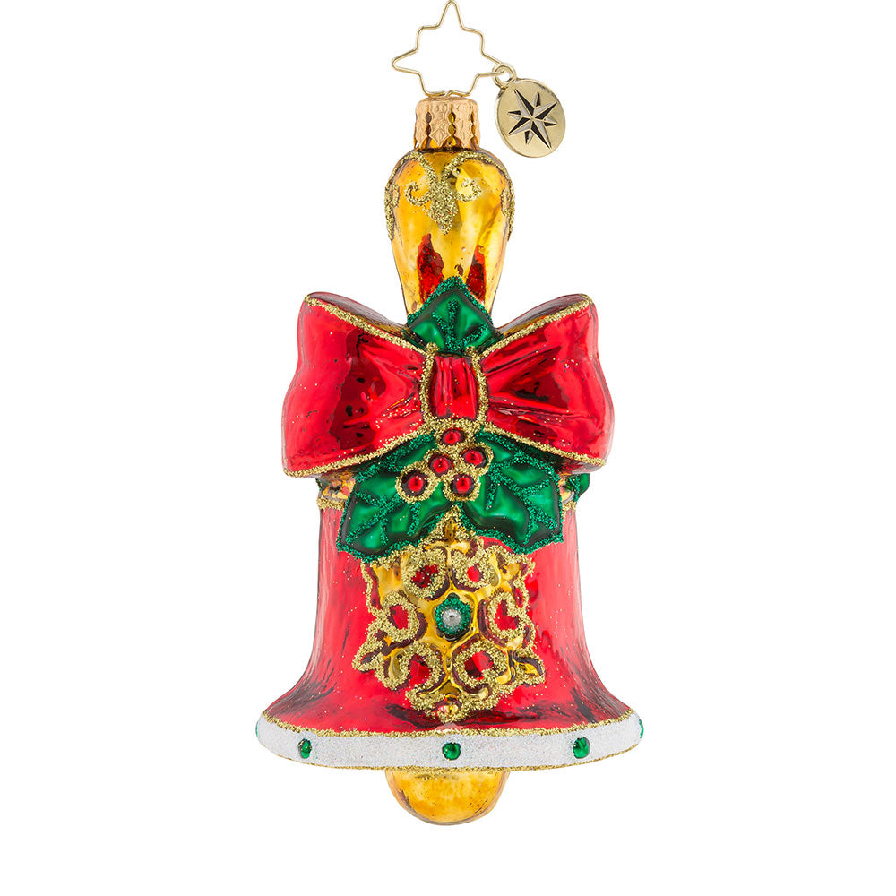 Christopher Radko Holly Bell Beauty Ornament