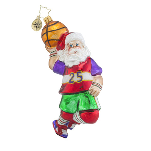Radko Hoop Trotter Basketball Ornament