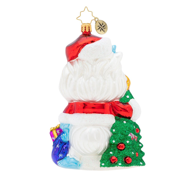 Christopher Radko Is It Christmas Yeti? Ornament