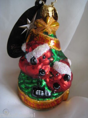 Christopher Radko LITTLE GEM 12 Days #4 Calling for You Four Birds ornament
