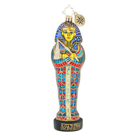 Christopher Radko Mystery Of The Nile Egyptian ornament