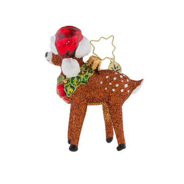 Christopher Radko Oh, Deer Me! Little Gem Ornament