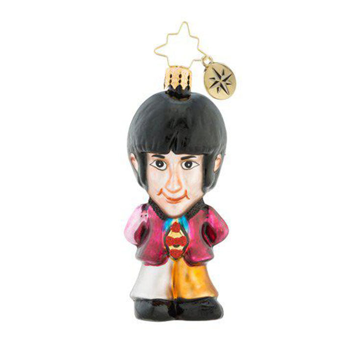 Christopher Radko the Beatles Gem On Wings Of Christmas Paul Ornament