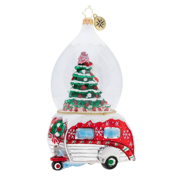 Christopher Radko One Happy Camper Ornament