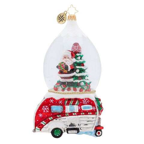Christopher Radko One Happy Camper Ornament (PreOrder)