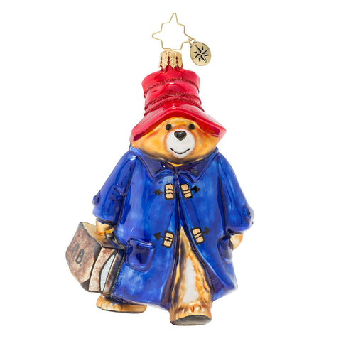 Christopher Radko Paddington Bear Children's Book Ornament