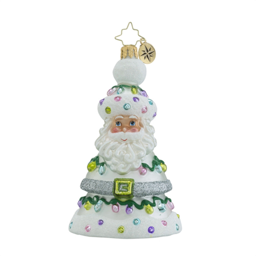 Radko Pastel Prince Santa Tree Ornament New