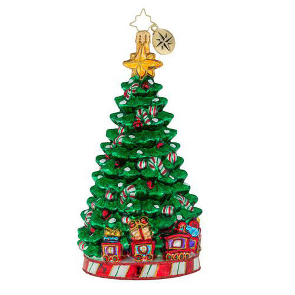 Christopher Radko Peppermint Panache Candy Cane Tree Ornament