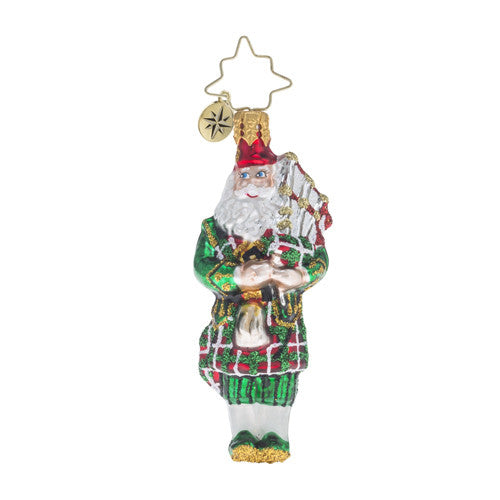 Radko 12 Days LITTLE GEMS #11 Pipers Piping Gem Ornament
