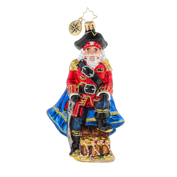 Christopher Radko Safe Cracker Pirate Ornament 2018