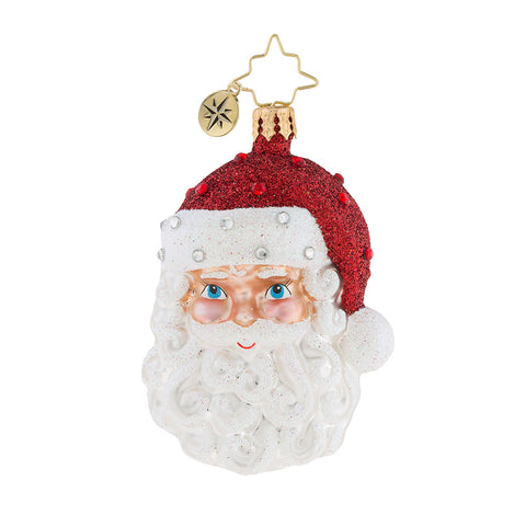 Christopher Radko Simply Fabulous Little Gem Santa Ornament