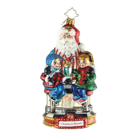 Christopher Radko Soda Shop Surprise Christmas Ornament