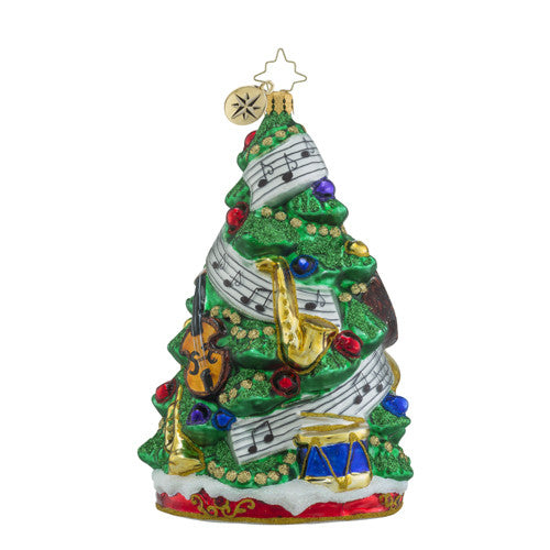 Radko Sounds of Joy Music Christmas Ornament New