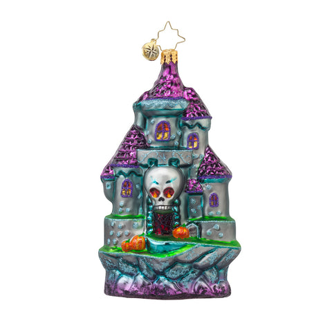 Radko HALLOWEEN Spooky Entrance Haunted House Ornament