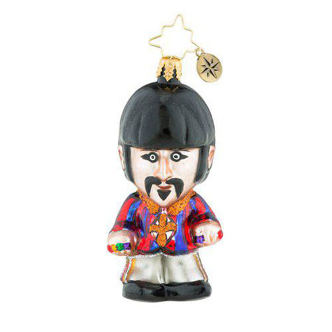 Christopher Radko the Beatles Gem Still A Starr! Ringo Ornament