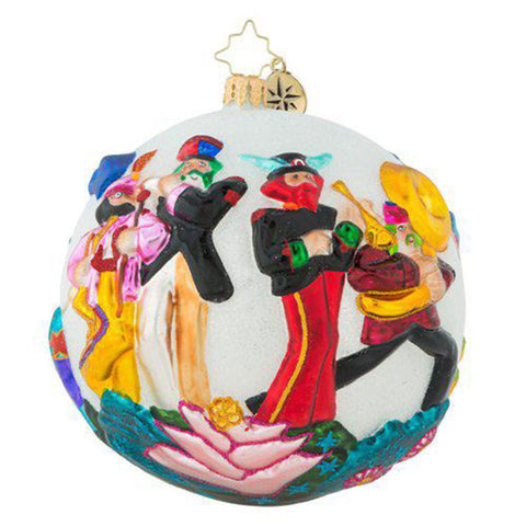 Christopher Radko The Beatles STRIKE UP THE BAND Ornament