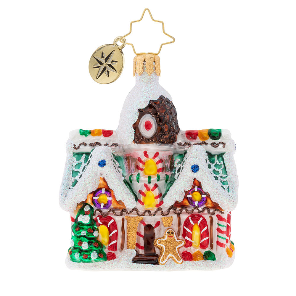 Christopher Radko Sweet Invitation Gem Candy House Ornament