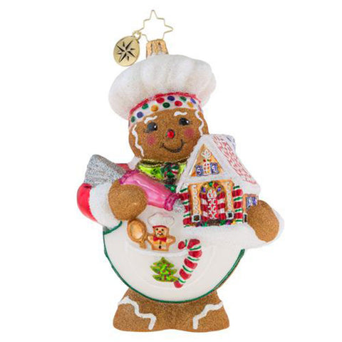 Christopher Radko Sweetest Chef Around Ornament