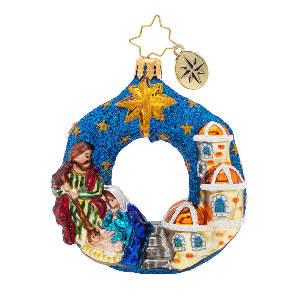 Christopher Radko The North Star Gem Nativity Ornament
