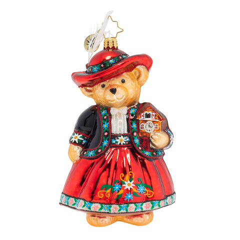 Christopher Radko Time For Tea Muffy Ornament New