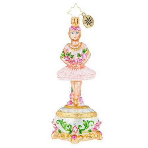 Christopher Radko Ballerina Too-Too Pretty Ornament New 2018