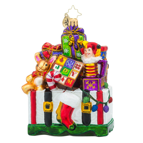 Christopher Radko TREASURES FOR TOTS Kids Ornament