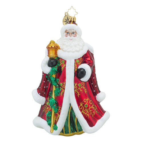 Radko Regency Nicholas Santa Ornament New