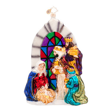 Radko REASON FOR THE SEASON Nativity ornament NEW