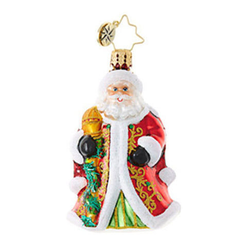 Radko Little Gems Santa REGENCY NICHOLAS Gem Ornament New 2017