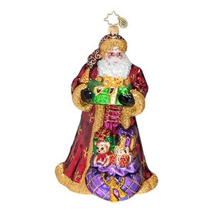 Radko FROM RUSSIA WITH LOVE Santa ornament Retired Sale