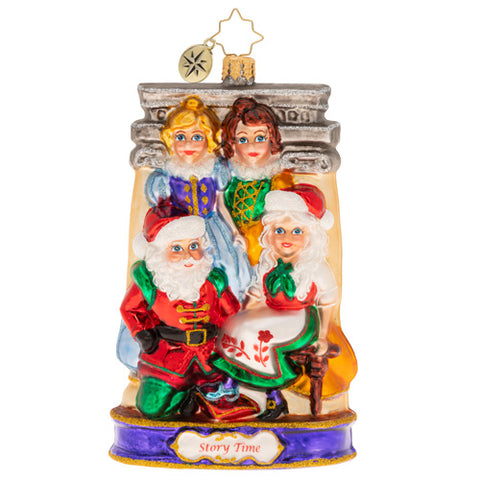 Christopher Radko If The Shoe Fits Cinderella Ornament