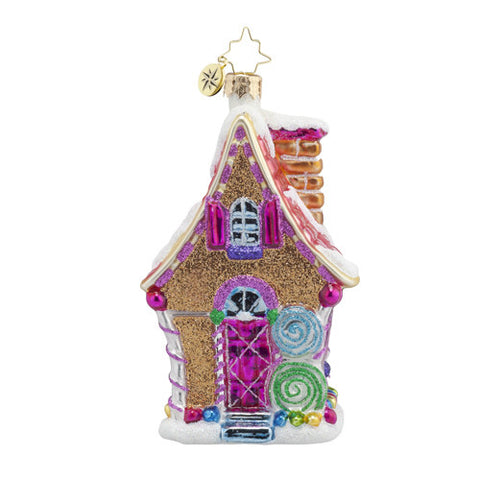 Radko Sugary Chateau Gingerbread House Ornament New