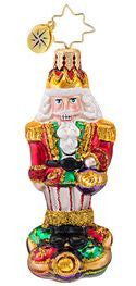 Christopher Radko LITTLE GEM Surrounded by Fun Nutcracker ornament