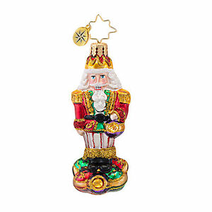 Christopher Radko SURROUNDED BY FUN Nutcracker GEM ornament