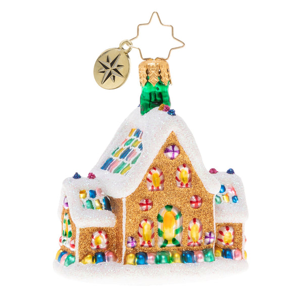 Christopher Radko Gingerbread Dream Home Gem
