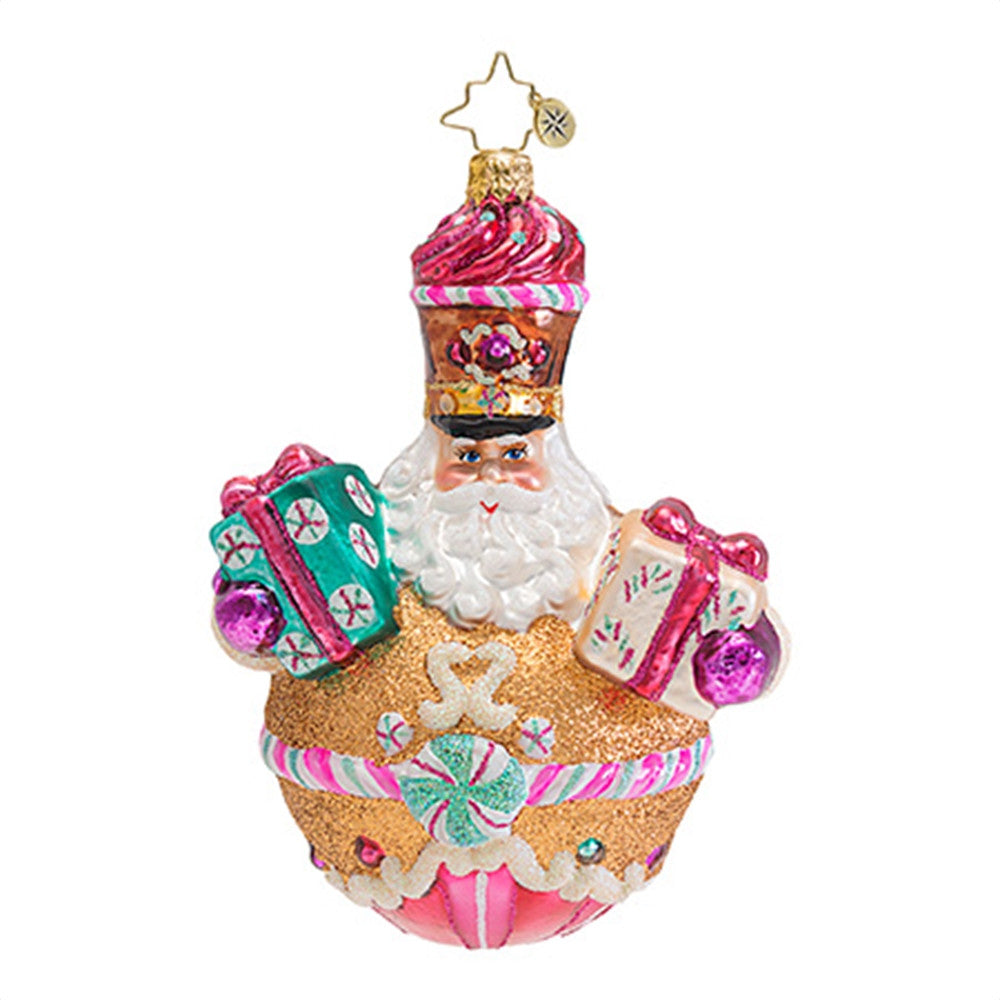 Radko SWEETLY SUITED Santa Christmas ornament New