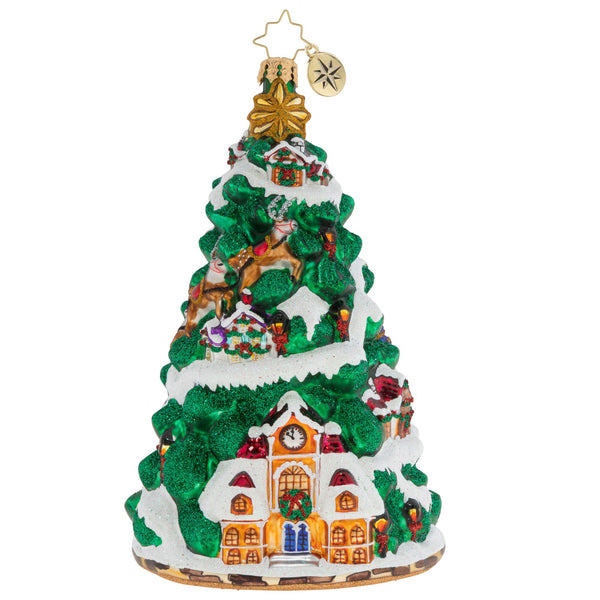 Christopher Radko It Takes A Village Family Tree Ornament