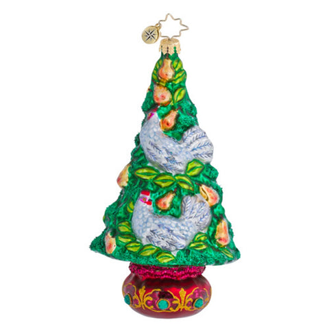 Radko 12 Days Tree series #3 THE HEN PEN Christmas Ornament NEW