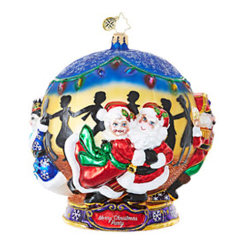 Christopher Radko The Party is in Full Swing Dance LARGE Ornament