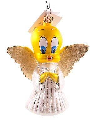 Radko TWEETY ANGEL Warner Brothers Cartoon Ornament NEW LE5000