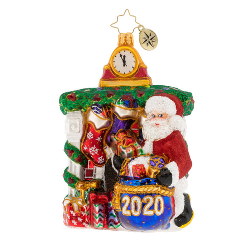 Christopher Radko 2020 Dated Unpacking The Holidays! Ornament