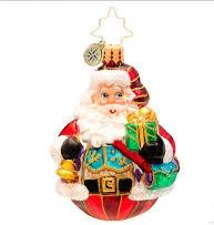 Christopher Radko VEST OF ALL Santa GEM ornament
