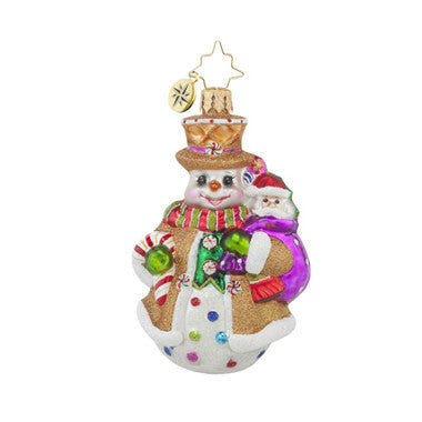 Radko Little Gems WAFFLE WALLY GEM Sweets ornament NEW