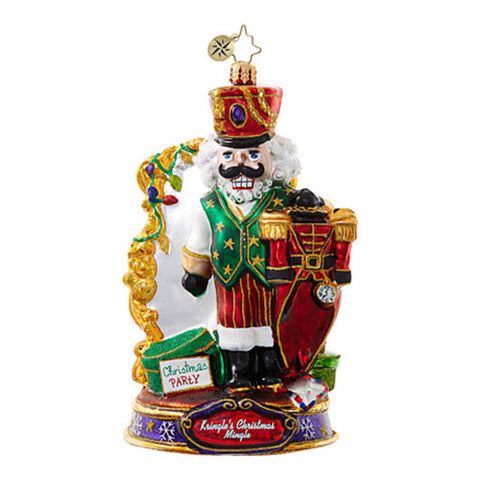 Christopher Radko What Should I Wear Nutcracker Kringle Christmas Mingle Ornaments New 2017