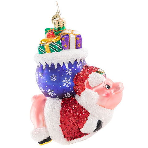 Christopher Radko When Pigs Fly! Ornament