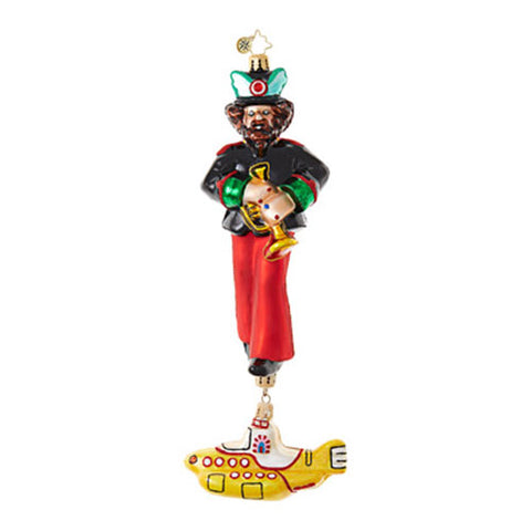 Radko  The Beatles Yellow Submarine Ringo Ornament  New RETIRED