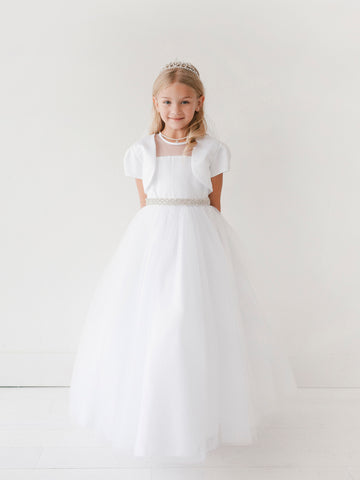 Robe blanche fille communion